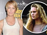 'I was too busy being a mom at the time': Robin Wright on choosing motherhood when studio bosses wanted to make her America's sweetheart