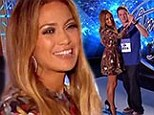 'Stay With Me!' Jennifer Lopez gets whisked into a slow dance by serenading contestant during audition for American Idol