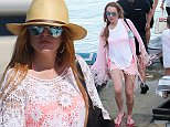 Picture Shows: Lindsay Lohan  August 08, 2014\n \n Actress Lindsay Lohan enjoys a day on the beach with friends in Mykonos, Greece. Rumor has it Lindsay is ignoring texts and calls from friends who are worried about her recent partying throughout Europe.\n \n Non-Exclusive\n UK RIGHTS ONLY\n \n Pictures by : FameFlynet UK © 2014\n Tel : +44 (0)20 3551 5049\n Email : info@fameflynet.uk.com