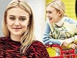 'She wears... I don't even know what!' Dakota Fanning spills on sister Elle's style, plus her photo shoot fears and Real Housewives habit