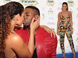 Get a room! Jordin Sparks bares midriff in bikini top as she smooches Jason Derulo on the blue carpet of Teen Choice Awards