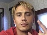 He's blonde! James Franco shares selfie photo of his new lighter hairdo on Instagram