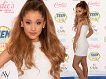LOS ANGELES, CA - AUGUST 10:  Singer Ariana Grande attends FOX's 2014 Teen Choice Awards at The Shrine Auditorium on August 10, 2014 in Los Angeles, California.  (Photo by Jason Merritt/Getty Images)
