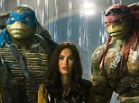 Sequel coming: Megan Fox and the Teenage Mutant Ninja Turtles debuted at the top of the weekend box office on Sunday and a sequel was promptly announced