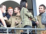 Liam Gallagher watches Arsenal v Manchester City from the stands at Wembley Stadium. - Photo mandatory by-line: Dan Weir/Pinnacle - Tel: +44(0)1363 881025 - Mobile:0797 1270 681 - VAT Reg No: 183700120 - 10/08/14 - SPORT - Football- The FA Community Shield - Arsenal v Manchester City - Wembley Stadium, London.