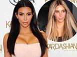 Maybe it brings out her fun side? Kim Kardashian revealed that her husband Kanye West likes her hair best blonde while promoting her tanning products in LA on Thursday