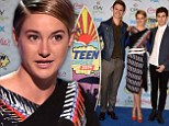 Winners are grinners! The Fault In Our Stars scoops the pool at the 2014 Teen Choice Awards as the crowd goes wild for Shailene Woodley and Ansel Elgort