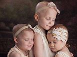 Miracles: This photo taken of three little girls battling potentially deadly cancers went viral in April. Now all three can say they are in remission