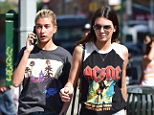 Divas? A New York City waitress says Hailey Baldwin and Kendall Jenner walked out on a bill because they weren't allowed to drink
