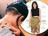 Kylie Jenner gets more than a little taken off the back as Instagram snap shows newly shorn hair above nape