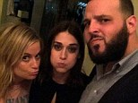 'One of the greatest people you will ever meet': Mean Girls actress Amy Poehler poses alongside former co-stars Daniel Franzese  and Lizzy Caplan