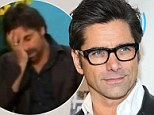 "'She threw me under the bus!"" John Stamos confronts KAK live on radio over 'badmouthing' him after drunk interview"