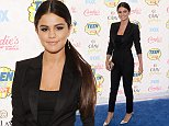LOS ANGELES, CA - AUGUST 10: Actress Selena Gomez attends FOX's 2014 Teen Choice Awards at The Shrine Auditorium on August 10, 2014 in Los Angeles, California.  (Photo by Jason Merritt/Getty Images)