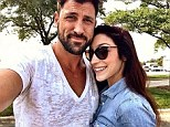 Together again: Maksim Chmerkovskiy and Meryl Davis both posted photos of themselves on Saturday on Instagram