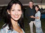 Hilaria Baldwin sports flowing white patterned frock to support husband Alec at his annual fundraiser