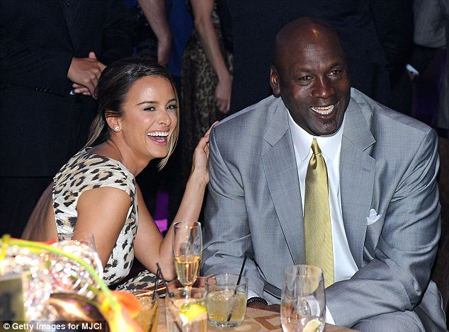 Big step: Michael Jordan is marrying his fiancee Yvette Prieto (seen here together in 2011)