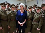 Television programme, 'Kate Adie's Women Of World War One'TX BBC2 Picture Shows: Kate Adie with members of FANY, First Aid Nursing Yeomanry, whose volunteers assisted the army during WWI. Kate Adie - (C) BBC - Photographer: Fred Fabre