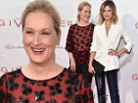 Stealing her spotlight? Meryl Streep was almost upstaged by her youngest daughter Louisa Gummer as they attended the New York premiere of The Giver on Monday