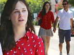 New couple alert! Zooey Deschanel holds hands with producer Jacob Pechenik during romantic stroll... after 'split with longterm boyfriend'