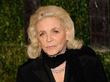 Late icon: Actress Lauren Bacall has passed away from a massive stroke at age 89