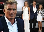 Daddy's girls! Dolph Lundgren's daughters Ida and Greta step into spotlight at The Expendables 3 premiere