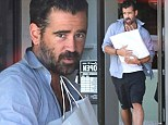 He's got a sweet tooth! Colin Farrell ditches his healthy diet for a cheat day at gourmet 'croughnut' shop Kettle Glazed in LA