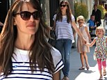 Mommy fun day! Jennifer Garner gets her girls giggling as they hit the streets of Beverly Hills
