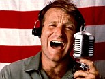 Good Morning Vietnam: Williams played a DJ in the 1987 war comedy which helped elevate him to superstar status