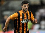 FILE PHOTO: Reports suggest Southampton have agreed a £12m with Hull City for striker Shane Long. Shane Long, Hull City ... Soccer - UEFA Europa League - 3rd Qualifying Round - 2nd leg - Hull City v FK AS Trencin - KC Stadium ... 07-08-2014 ... Kingston Upon Hull ... UK ... Photo credit should read: Nigel French/EMPICS Sport. Unique Reference No. 20620414 ...