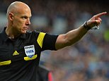 epa04342883 (FILE) A file picture dated 23 April 2014 of English referee Howard Webb during the UEFA Champions League semi final first leg soccer match between Real Madrid and FC Bayern Munich at Santiago Bernabeu stadium in Madrid, Spain. FIFA referee Howard Webb has announced his retirement on 06 August 2014, ending his 25-year career to become technical director of the Professional Game Match Officials Limited (PGMOL), the association that oversees professional officials.  EPA/PETER KNEFFEL