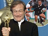The Oscar winner and the All Black: Jonah Lomu mourns his 'great friend' Robin Williams and reveals the generous star's first gift to his sons- a  Jumanji movie script