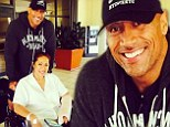 'Grateful to see her smile': Dwayne 'The Rock' Johnson takes wheelchair-bound mother home from hospital following crash with drunk driver