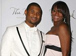 Usher talks divorce from ex-wife Tameka Foster, the pair seen here at the New Year's Eve celebrations at the Bank Nightclub, Bellagio Resort Hotel and Casino, Las Vegas, Nevada in 2008