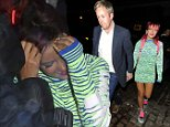 13 Aug 2014 - LONDON - UK  LILY ALLEN SEEN WITH HUSBAND SAM COOPER HIDING HER WEDDING RING AT CHILTERN FIREHOUSE AND FRIEND MIQUITA OLIVER ATTENDED ALSO  BYLINE MUST READ : XPOSUREPHOTOS.COM  ***UK CLIENTS - PICTURES CONTAINING CHILDREN PLEASE PIXELATE FACE PRIOR TO PUBLICATION ***  **UK CLIENTS MUST CALL PRIOR TO TV OR ONLINE USAGE PLEASE TELEPHONE   44 208 344 2007 **