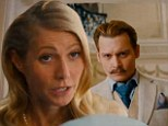 FIRST LOOK: Gwyneth Paltrow adopts posh British accent as the wife of Johnny Depp's debonair character in trailer for Mortdecai