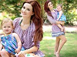 Holly Madison embraces motherhood as she enjoys a day at the park with beautiful baby Rainbow