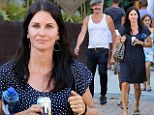 Fashion spotting! Courteney Cox enjoys a day of shopping with friends and daughter Coco