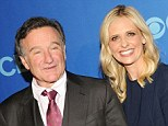 Father figure: Sarah Michelle Gellar remarked that Robin Williams was the father she always dreamed of having in a loving tribute to the late actor after news of his death broke on Monday
