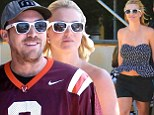 They're so in sync! Britney Spears and her boyfriend David Lucado co-ordinate in matching white shades