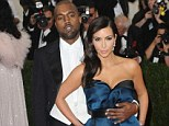Outspoken husband: Kim Kardashian, pictured in May, said being married to Kanye West has made her more outspoken