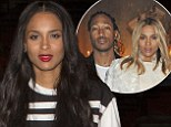 Ciara steps out for dinner amid rumours she has split from fiance Future 'after he cheated on her'