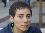 Genius! Maryam Mirzakhani is the first female - and the first Iranian - to win a Fields Medal in its 76-year history