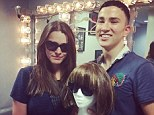 Although conspicuous by her absence, fashion queen Anna Wintour did send daughter Bee Shaffer (left) to a new one-man show about her life, performed by actor Ryan Raftery (right)