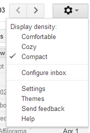 Gmail 2013 New Layout
