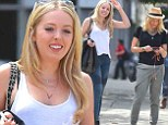 Meet Tiffany Trump! Donald's rarely seen daughter looks bright and gorgeous as she steps out for a day in New York with Marla Maples