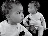 Baby's first Chanel! North West makes her modelling debut aged 13 months