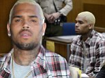Chris Brown told by judge he is 'doing well' since being released from jail at progress report court hearing in Los Angeles