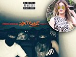 'Don't Panic!' Khloe Kardashian dons a ski mask in dark art for French Montana's new single that she helped to inspire