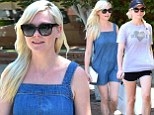 Twice as nice! Kirsten Dunst showcases her long and slender legs in two outfits as she treats herself to some shopping after a hike