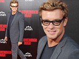 Age-defying actor Simon Baker, 44, looks dashing as he walks the red carpet at The November Man premiere